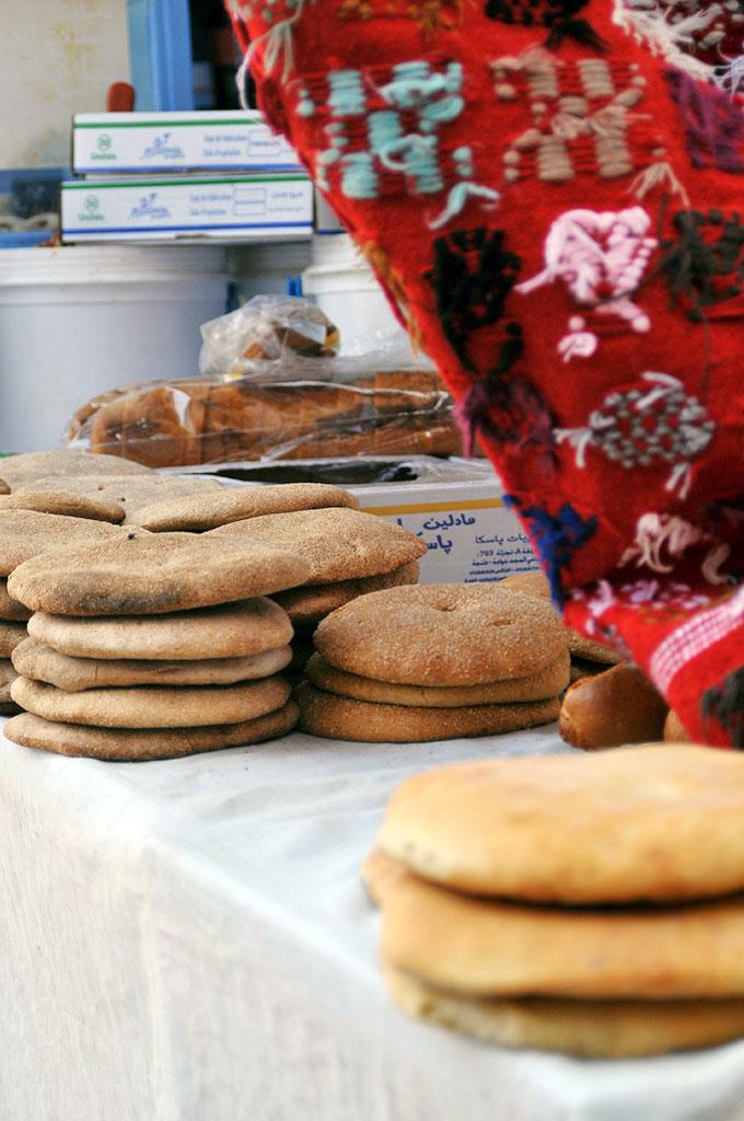 Pão típico em Chefchaouan