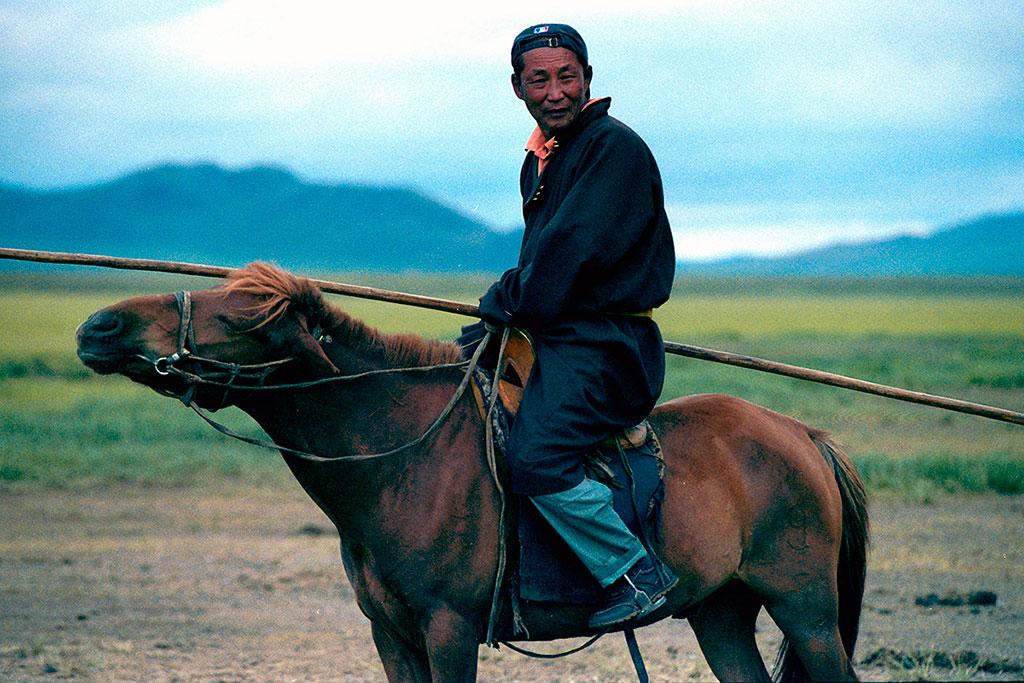 nómada a cavalo
