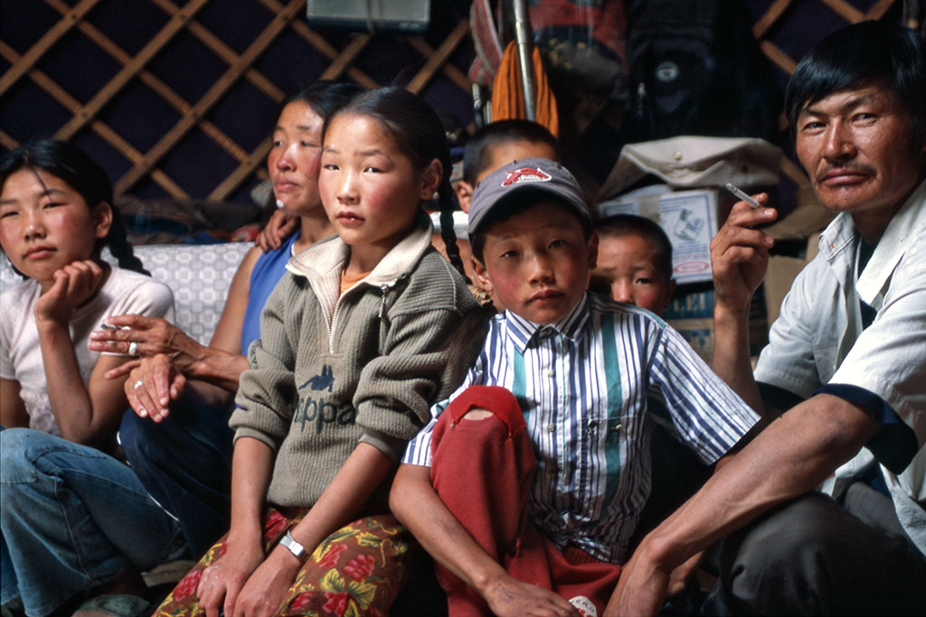 família mongol