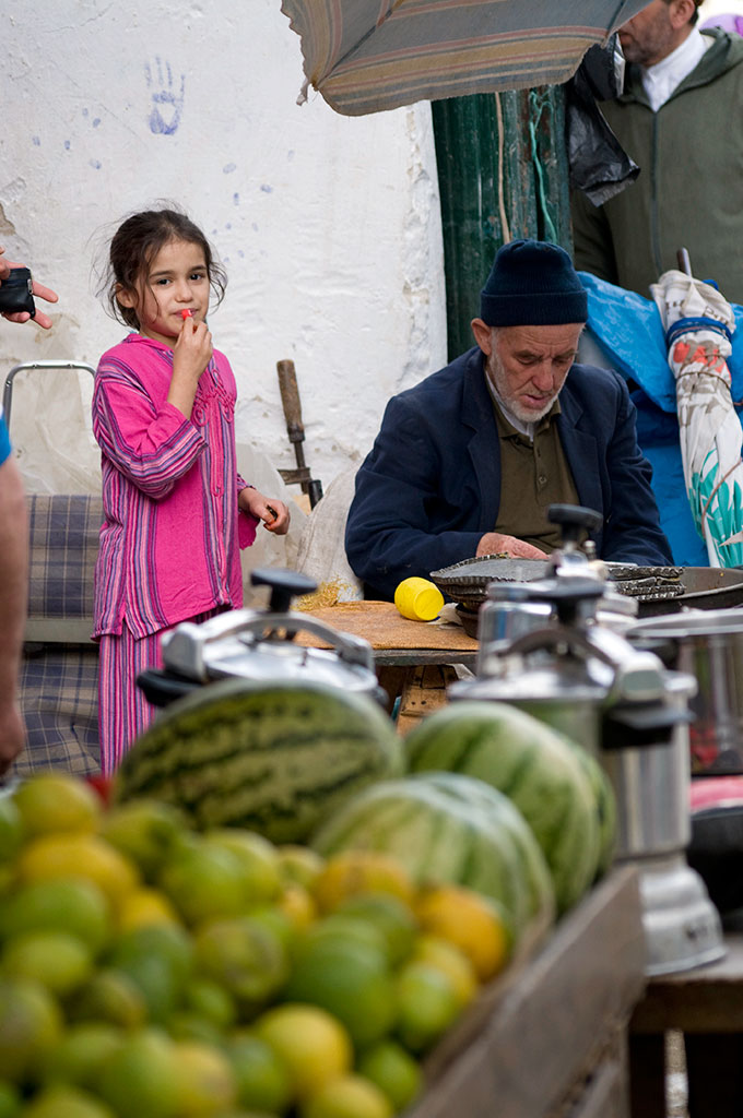 Mercado na Medina de Tetouan