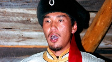 cantor de musica gutural mongol