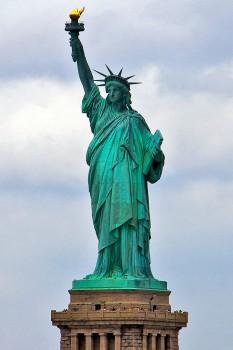 estátua da liberdade em nova iorque