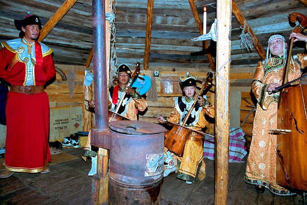 grupo de música mongol
