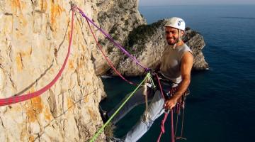 escalador nos pinheirinhos