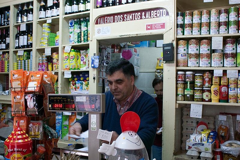 Mercearia Valério dos Santos no Bairro Alto