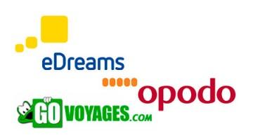 Opodo, eDreams e Go Voyages