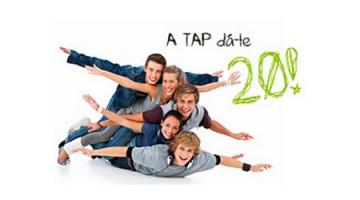 desconto TAP no Dia Internacional da Juventude