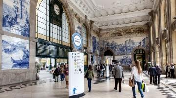 estação de São Bento no Porto