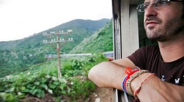 Jorge Vassallo no Transiberiano