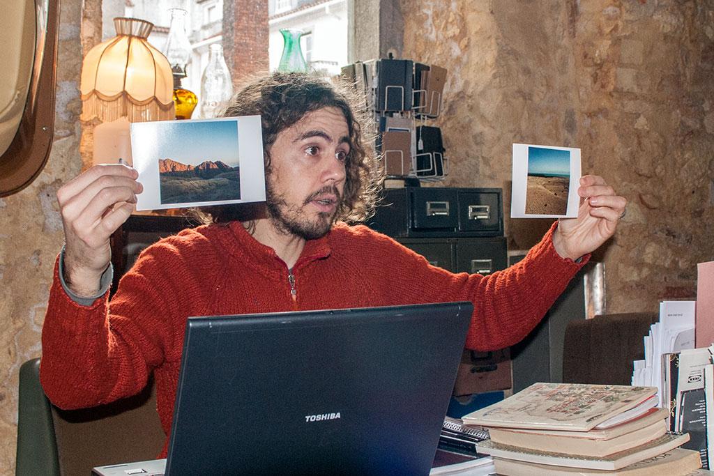Tiago Salazar no Studio Astolfi