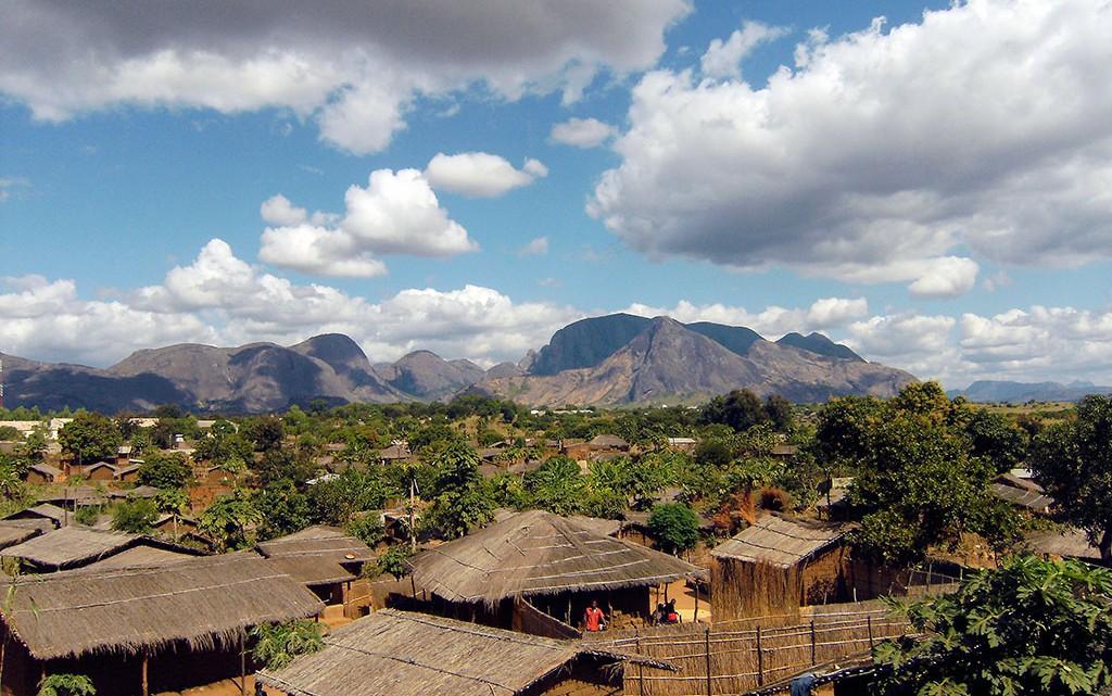 Aldeia em Cabo Delgado
