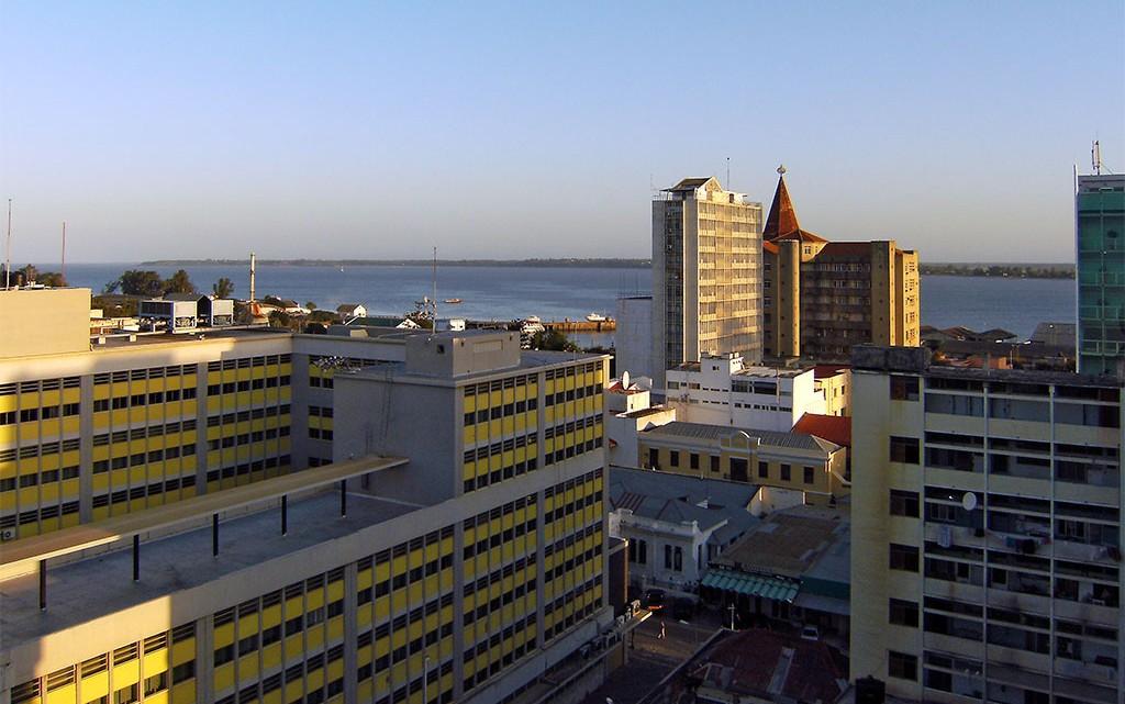 Amanhecer em Maputo
