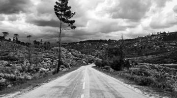 estrada de montanha