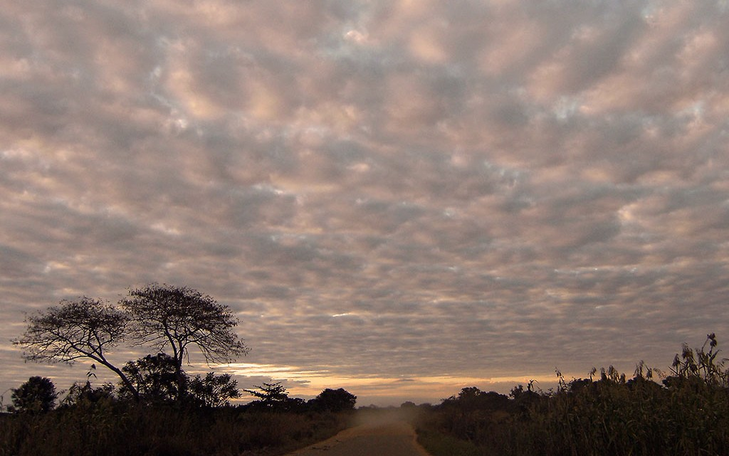 Estrada em Cabo Delgado