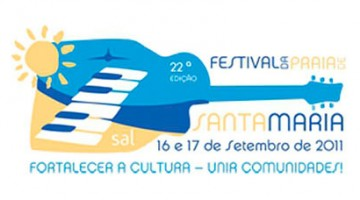 logótipo festival 2011 santa maria na ilha do Sal