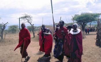 Tribo de Masais