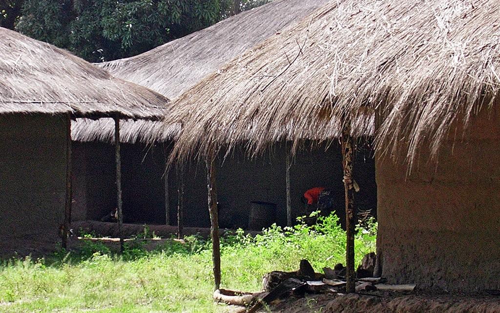 Palhotas Guiné-Bissau