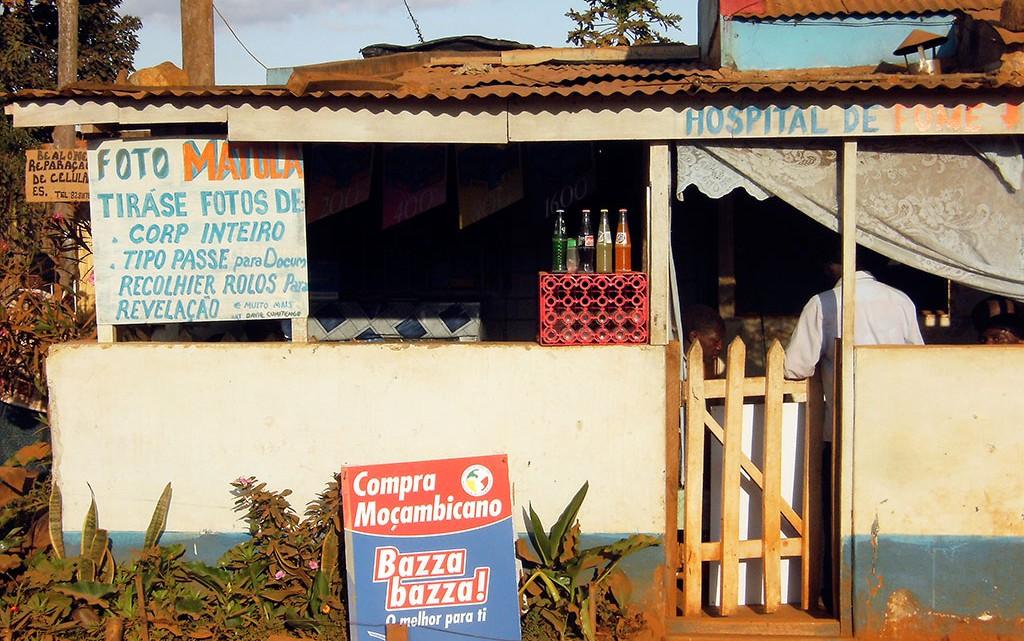 Loja-mercado em Moçambique