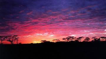 Nascer do Sol em África