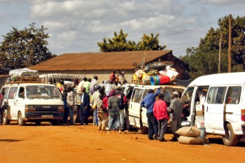 Terminal de Chapas em Niassa