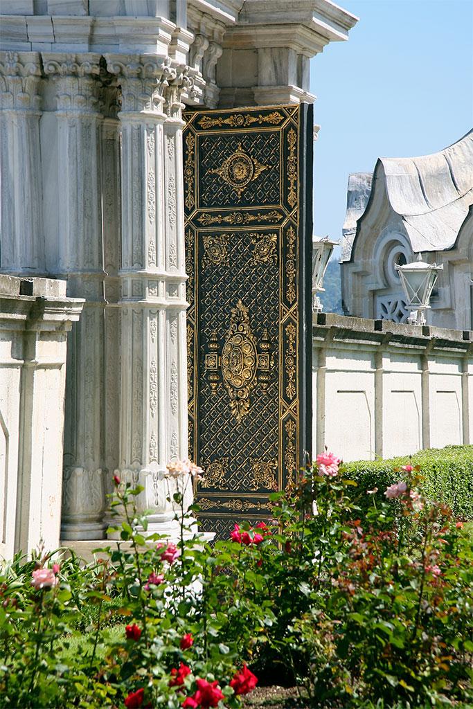 jardim palácio Beylerbeyi