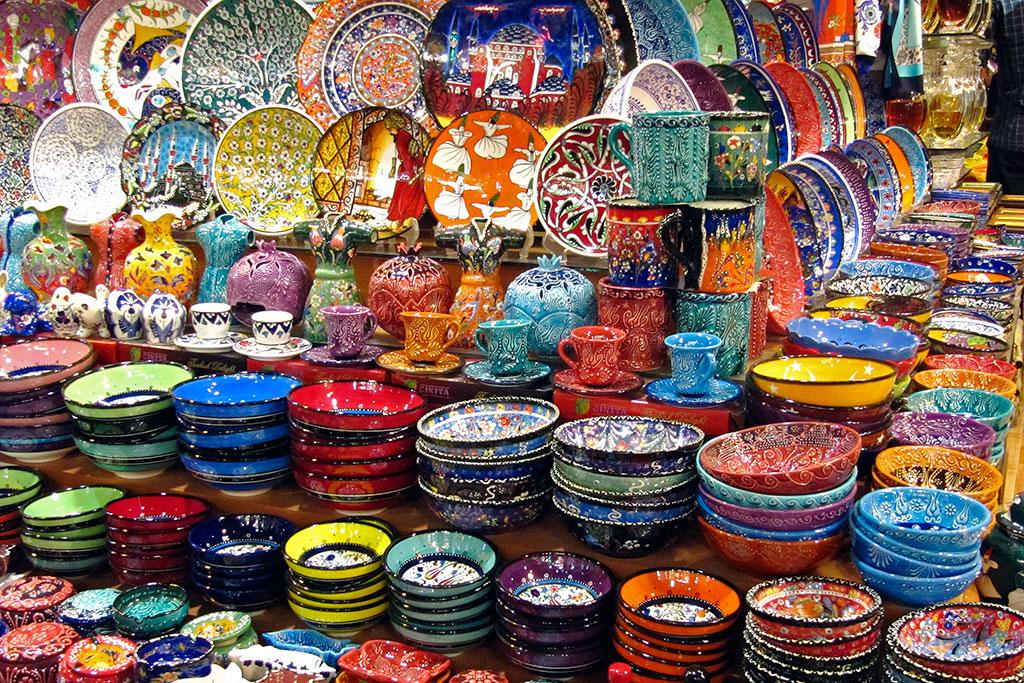 ceramica bazar especiarias