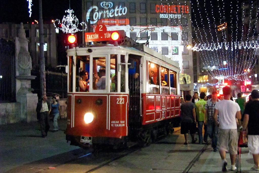 eléctrico de Istambul