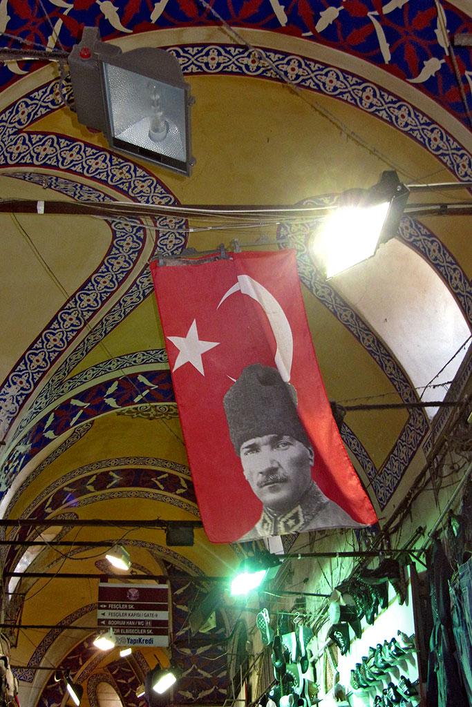 bandeira do ataturk