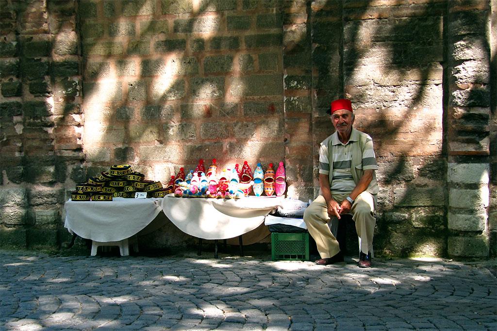 vendedor de rua