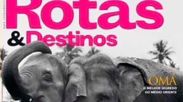 Rotas & Destinos - Capa Novembro