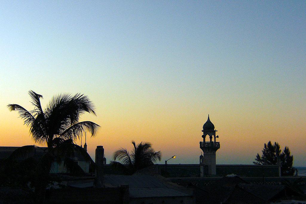 mesquita na ilha de Moçambique