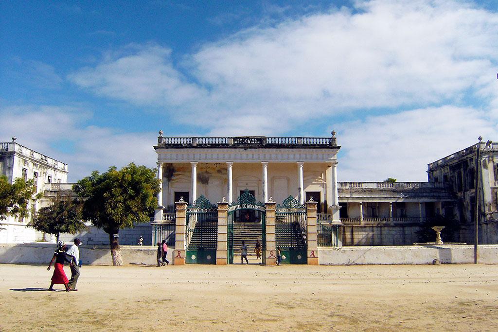hospital da ilha de Moçambique