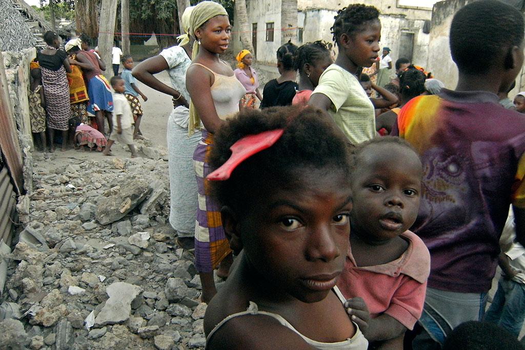 dança de rua na ilha de mocambique