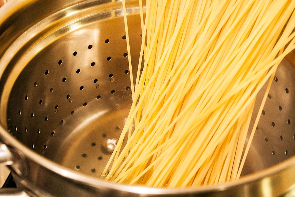 cozedura do spaghetti