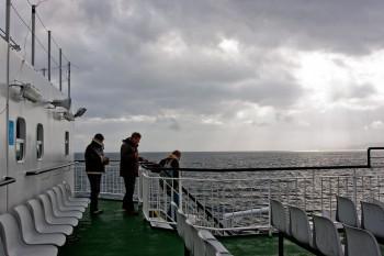 Ferry na Escócia