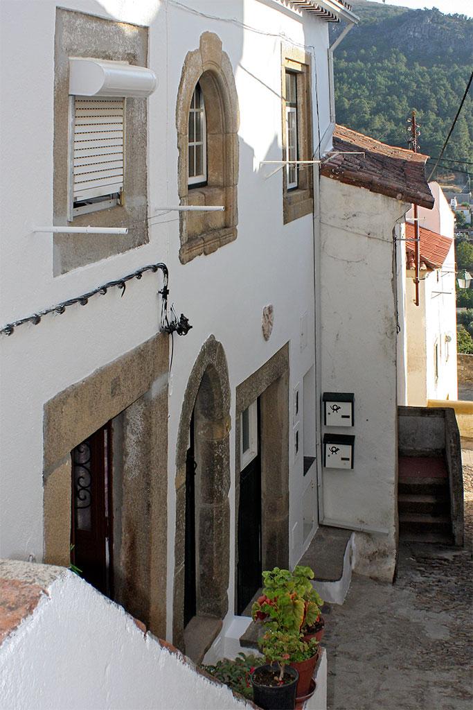 casa na parte alta de Castelo de Vide