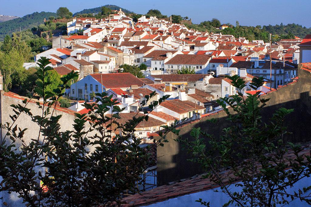 vista panorâmica de Castelo de Vide