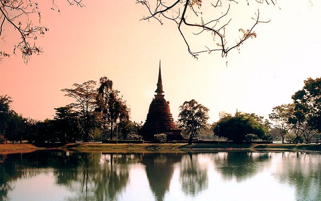 Pôr do Sol na Tailândia