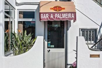 Fachada do restaurante A Palmeira