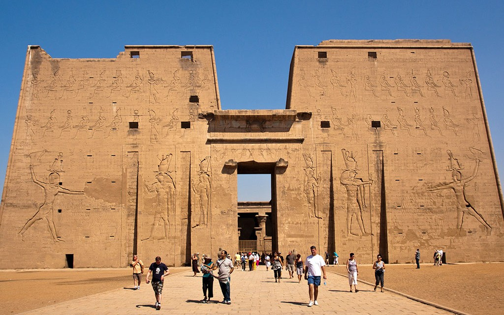 templo ptolemaico de Edfu