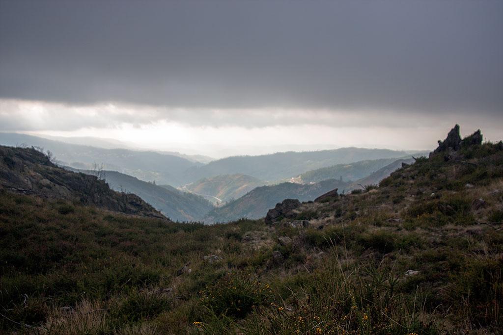 paisagem na serra da freita