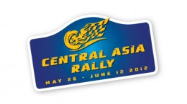 logótipo Central Asia Rally