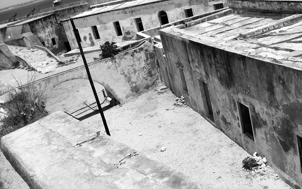 ruinas do forte de S. Sebastião