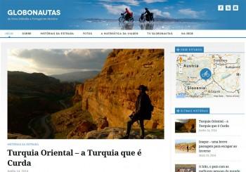 Site Globonautas