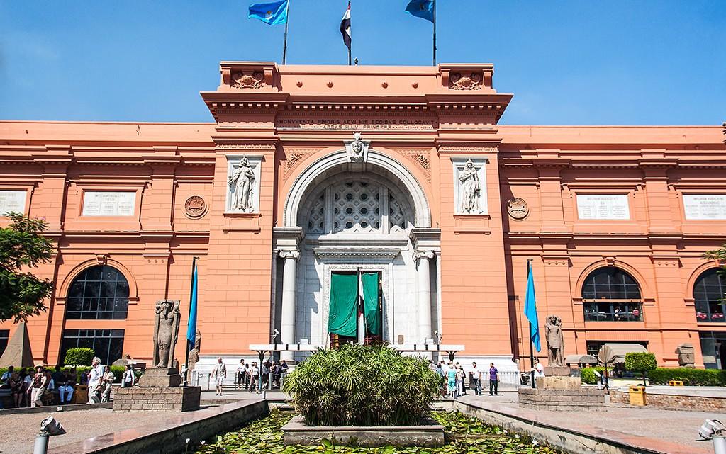 entrada Museu Egípcio do Cairo