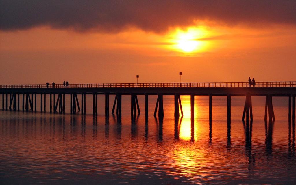 ponte na ilha de Moçambique