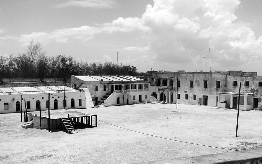 praça central do forte de S. Sebastião