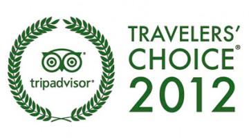 tripadvisor travelers choice 2012