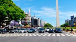 Avenida 9 de Julho em Buenos Aires