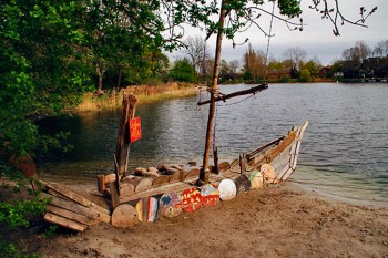 margem do lago em christiania